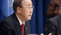 BAn Ki-moon Press Conference