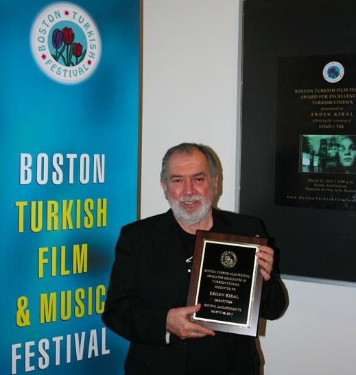 Erden_Kıral_Boston _Türk_Sinemasında_Mükemmelik_Ödülü